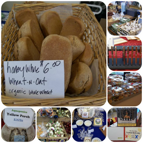 Wares from the December 1st Market